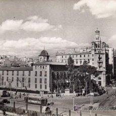 Postales: POSTAL DE VALENCIA, CALLE DE JATIVA Y AVENIDA DEL MARQUES DE SOTO,CIRCULADA. Lote 36055349