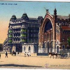 Postales: POSTAL DE VALENCIA, CALLE DE GORGE JUAN,NO CIRCULADA. Lote 36085881