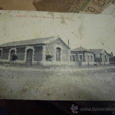 Postales: POSTAL ANTIGUA DE ALICANTE TALLERES Y ALMACENES DEL PUERTO ORIGINAL SIN ESCRIBIR. Lote 30710026