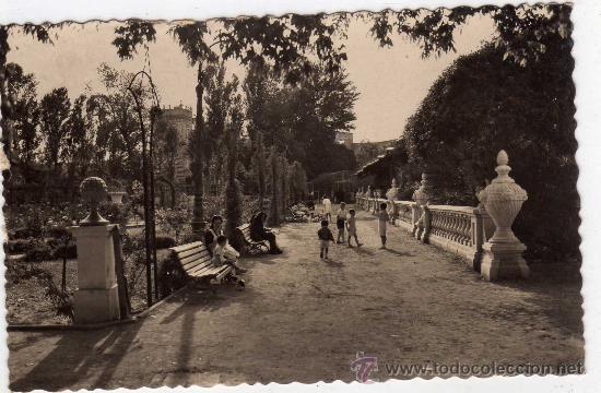 POSTAL DE VALENCIA,LOS VIVEROS, POSTAL CIRCULADA (Postales - España - Comunidad Valenciana Antigua (hasta 1939))
