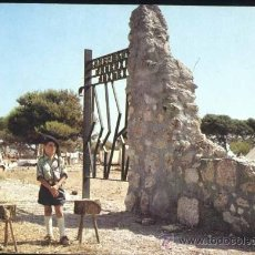 Postales: ALCALÁ DE CHIVERT (CASTELLÓN).- ALCOCEBRE.- CAMPAMENTO JAIME I DE F. DE J. DE CASTELLON. Lote 36205631