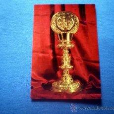 Postales: POSTAL BOCAIRENTE MUSEO PARROQUIAL CALIZ DE SAN JUAN RIVERA S XVI NO CIRCULADA. Lote 36214477