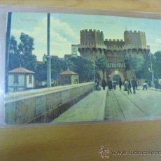 Postales: POSTAL DE VALENCIA,PUENTE Y TORRES DE SERRANOS,. Lote 36259148
