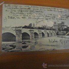 Postales: PUENTE DE SERRANOS SOBRE RIO TURIA,LA DE LA FOTO. Lote 36275911