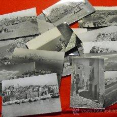 Postales: LOTE DE 18 POSTALES DE PEÑISCOLA DIFERENTES. ORIGINALES DE LOS AÑOS 50.. Lote 141686032