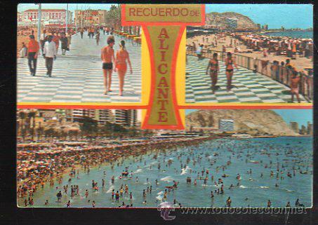 TARJETA POSTAL DE ALICANTE - DIVERSOS ASPECTOS. 7071. COMERCIAL VIPA (Postales - España - Comunidad Valenciana Moderna (desde 1940))