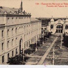 Postales: POSTAL DE VALENCIA,AVENIDA DEL PALACIO DE LA INDUSTRIA. Lote 36365967