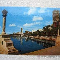 Postales: POSTAL DE ALICANTE - Nº303 - ESPLANADA Y PUERTO (CIRCULADA 1974, VIPA). Lote 36467484