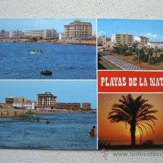 Postales: POSTAL DE TORREVIEJA (ALICANTE) - Nº603 - PLAYAS DE LA MATA, DIVERSAS VISTAS (SIN CIRCULAR). Lote 36467528