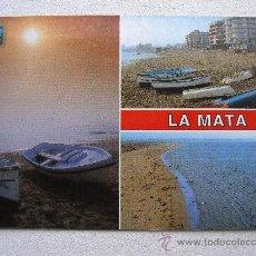Postales: POSTAL DE TORREVIEJA: LA MATA (ALICANTE) - Nº2 - DIVERSOS ASPECTOS (SIN CIRCULAR). Lote 36467568