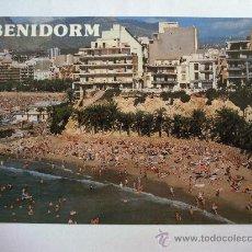 Postales: POSTAL DE BENIDORM (ALICANTE) - Nº248, PLAYA MALPAS (SUBIRATS CASANOVA, AÑOS 90 APROX, SIN CIRCULAR). Lote 36481524