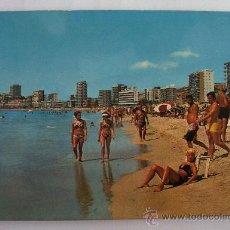 Postales: POSTAL DE BENIDORM (ALICANTE) - Nº49, VISTA PLAYA PONIENTE (HMNOS GALIANA, AÑOS 70/80 APROX). Lote 36481629