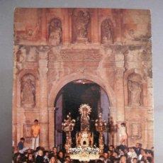 Postales: POSTAL DE ALGEMESI (VALENCIA) - SALIDA PROCESION VIRGEN DE LA SALUD (IMPRIMIDO CON DATOS DE RADIO... Lote 36482902
