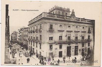 ALCOY (Postales - España - Comunidad Valenciana Antigua (hasta 1939))