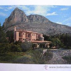 Postales: POSTAL DE FINESTRAT (ALICANTE) - Nº3 - RESTAURANTE SUIZO FONT DEL MOLI (HNOS GALIANA, AÑOS 70 APROX). Lote 36563833