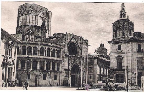 Postal antigua de la catedral de valencia comprar for Fotos antiguas de valencia