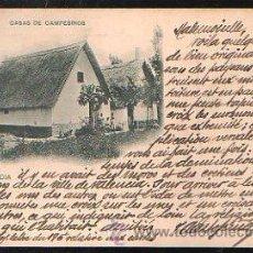 Postales: TARJETA POSTAL DE VALENCIA - CASAS DE CAMPESINOS. 151. HAUSER Y MENET. Lote 36671419