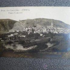 Postales: VALENCIA C. JERICA CASTELLÓN VISTA GENERAL POSTAL ANTIGUA. Lote 36743853