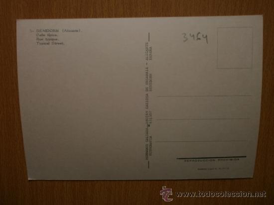 Postales: ALICANTE. BENIDORM. - Foto 2 - 36781445