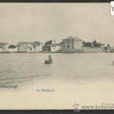 Postales: VALENCIA - ALBUFERA - 1 - EL PERELLO - FOT. LAURENT - REVERSO SIN DIVIDIR - (15.025). Lote 36821714