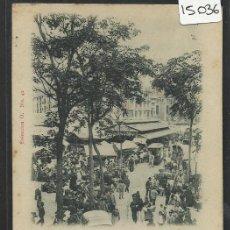 Postales: VALENCIA - MERCADO CENTRAL - COLECCION O NUM. 41 - REVERSO SIN DIVIDIR - (15.036). Lote 36821856