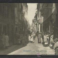 Postales: REQUENA - 10 - CALLE DE OLIVAS - INDUSTRIAL FOTOGRAFICA A. FABERT - (15.034). Lote 36821902