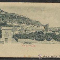 Postales: SAGUNTO - VISTA DEL CASTILLO - COLECCION O NUM. 36 - REVERSO SIN DIVIDIR - (15.033). Lote 36821923