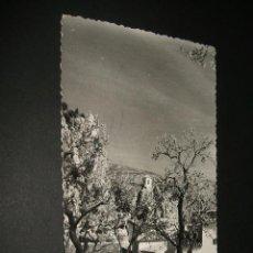 Postales: CASTELL DE GUADALEST ALICANTE VISTA PANORAMICA POSTAL FOTOGRAFICA HERMANOS GALIANA CALLOSA DE ENSARR. Lote 36903084
