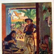 Postales: POSTAL -Nº14 LA COMIDA- VALENCIA. Lote 36947777
