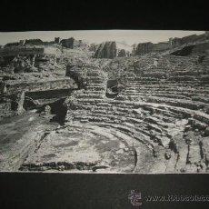 Postales: SAGUNTO VALENCIA RUINAS DEL TEATRO ROMANO . Lote 36995597