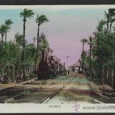 Postales: ELCHE - 10 - ESTACION - ROISIN FOTO - FOTOGRAFICA - (15.368). Lote 37108953