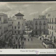 Postales: ELCHE - 121 - PLAZA DEL CAUDILLO - FOTOGRAFICA - ED. ARRIBAS - (15.370). Lote 37109040