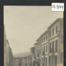 Postales: JAVEA - CALLE REINA REGENTE - FOTOGRAFICA - (15.374). Lote 37146996