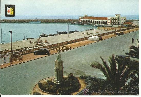 BENICARLO.-VISTA PARCIAL DEL PUERTO.-ESCUDO DE ORO Nº 23 (Postales - España - Comunidad Valenciana Moderna (desde 1940))