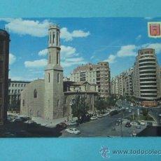 Cartoline: VALENCIA. IGLESIA SAN AGUSTÍN Y AVDA. OESTE. A. SUBIRATS CASANOVAS. Lote 37570329