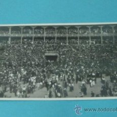 Postales: POSTAL FOTOGRÁFICA MULTITUD EN PLAZA DE TOROS. ¿VALENCIA?. Lote 37965444