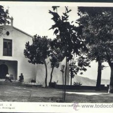 Postales: COCENTAINA (ALICANTE).- P.N.T. PARAJE SAN CRISTOBAL. Lote 38608623