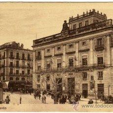 Postales: BONITA POSTAL - ALCOY (ALICANTE) - AYUNTAMIENTO - MUY AMBIENTADA . Lote 38632160