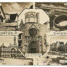 Postales: VALENCIA.-RECUERDO DE VALENCIA.-EDICIONES JDP Nº 5.- SIN CIRCULAR. Lote 38833351