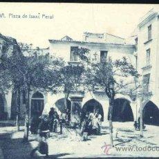Postales: ONDA (CASTELLÓN).- PLAZA DE ISAAC PERAL. Lote 38840066