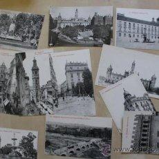 Postales: LOTE DE 11 POSTALES ANTIGUAS DE DE VALENCIA. . Lote 39009950