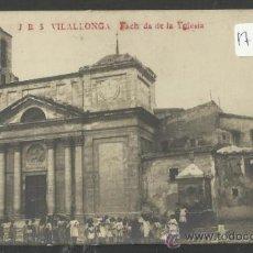 Postales: VILALLONGA - JB 5 - FACH DE LA YGLESIA - (17578). Lote 39177849