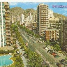Postales: ALICANTE, BENIDORM, HNOS. GALIANA, NR.79, ESCRITA. Lote 39209456