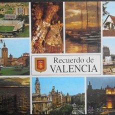 Postales: (9424)POSTAL SIN CIRCULAR,RECUERDO; DIVERSOS ASPECTOS,VALENCIA,VALENCIA,COMUNIDAD VALENCIANA,CONSERV. Lote 39489899