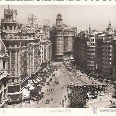 Postales: POSTAL VALENCIA -PLAZA DEL CAUDILLO FOT.F.GUILLEN NUM.6 -OCASIÓN-. Lote 39613290