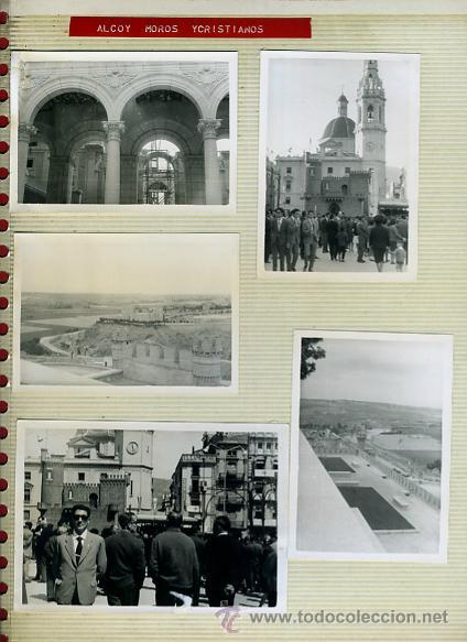 LOTE DE 40 FOTOS FOTOGRAFIAS DE ALCOY ,ALICANTE , MOROS Y CRITIANOS, ORIGINALES (Postales - España - Comunidad Valenciana Antigua (hasta 1939))