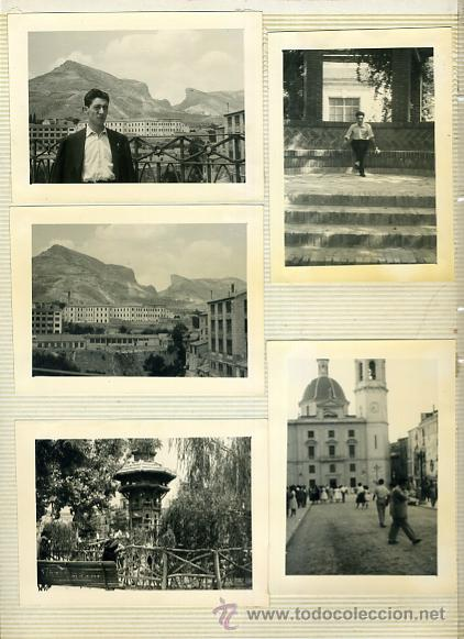 Postales: LOTE DE 40 FOTOS FOTOGRAFIAS DE ALCOY ,ALICANTE , MOROS Y CRITIANOS, ORIGINALES - Foto 2 - 40135645