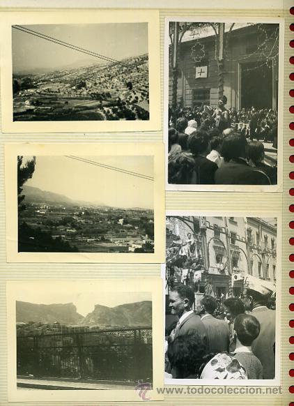 Postales: LOTE DE 40 FOTOS FOTOGRAFIAS DE ALCOY ,ALICANTE , MOROS Y CRITIANOS, ORIGINALES - Foto 4 - 40135645