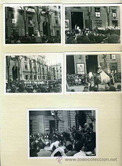 Postales: LOTE DE 40 FOTOS FOTOGRAFIAS DE ALCOY ,ALICANTE , MOROS Y CRITIANOS, ORIGINALES - Foto 6 - 40135645