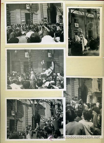 Postales: LOTE DE 40 FOTOS FOTOGRAFIAS DE ALCOY ,ALICANTE , MOROS Y CRITIANOS, ORIGINALES - Foto 8 - 40135645